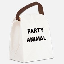 PARTY ANIMAL Canvas Lunch Bag