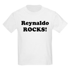 Reynaldo Rocks! Kids T-Shirt