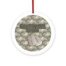 Christmas 2006 (Lauryn) Ornament (Round)