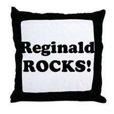 Reginald Rocks! Throw Pillow