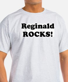 Reginald Rocks! Ash Grey T-Shirt