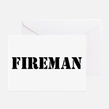 Fireman Greeting Cards (Pk of 10)