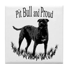 PitBull Proud Tile Coaster