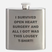 I SURVIVED HEART SURGERY Flask