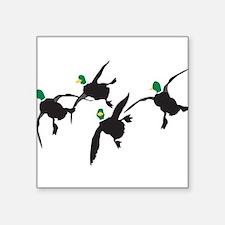 Flying Mallard Ducks Sticker