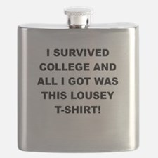I SURVIVED COLLEGE Flask