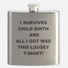 I SURVIVED CHILDBIRTH Flask