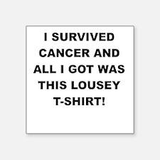 I SURVIVED CANCER Sticker