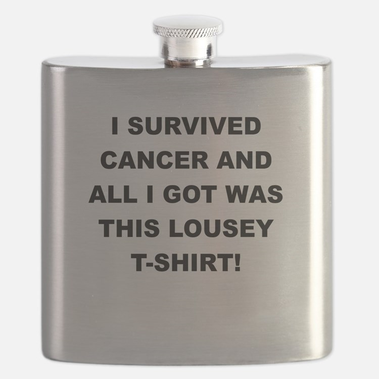 I SURVIVED CANCER Flask
