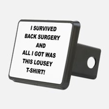 I SURVIVED BACK SURGERY Hitch Cover