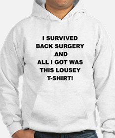 I SURVIVED BACK SURGERY Hoodie