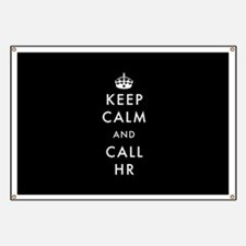 Keep Calm and Call HR Banner