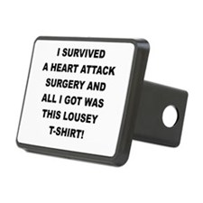 I SURVIVED A HEART ATTACK Hitch Cover