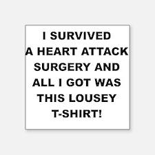 I SURVIVED A HEART ATTACK Sticker