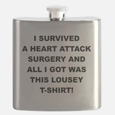 I SURVIVED A HEART ATTACK Flask