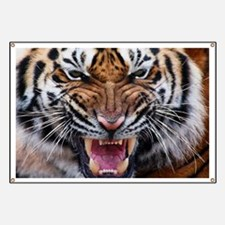Big Cat Tiger Roar Banner