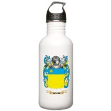 Noire Coat of Arms (Family Crest) Water Bottle