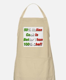 50 Percent Italian Cooking Be BBQ Apron