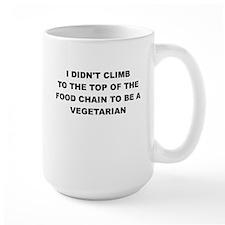 I DIDNT CLIMB TO THE TOP Mugs