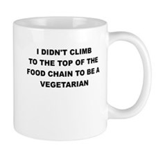 I DIDNT CLIMB TO THE TOP Mugs