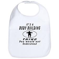 Body Building Thing Designs Bib