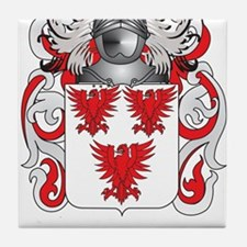 Noonan Coat of Arms (Family Crest) Tile Coaster