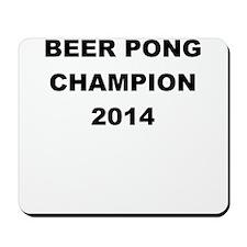 BEER PONG CHAMP 2014 Mousepad
