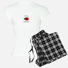 Ladybug with Angel kisses and ladybug hugs Pajamas