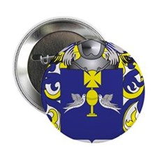 """Noriega Coat of Arms (Family Crest) 2.25"""" Button"""