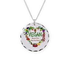 Vegan Heart Necklace