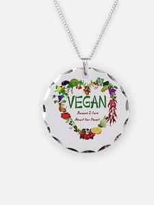 Vegan Heart Necklace