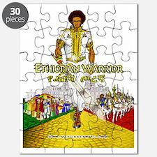 Ethiopian Warrior Puzzle