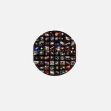 Hubble Space Telescope Mini Button
