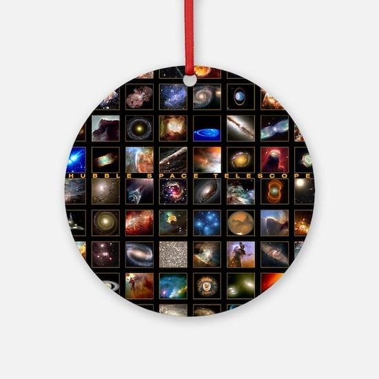 Hubble Space Telescope Ornament (Round)