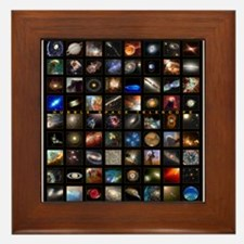 Hubble Space Telescope Framed Tile