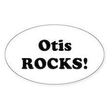 Otis Rocks! Oval Decal
