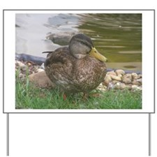 the duck Yard Sign