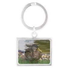 the duck Landscape Keychain