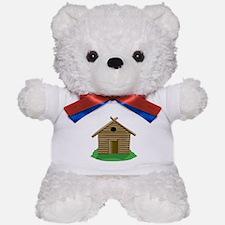 Log Cabin Teddy Bear