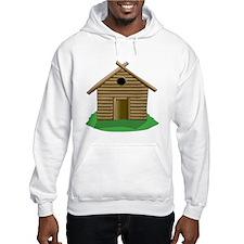 Log Cabin Hoodie