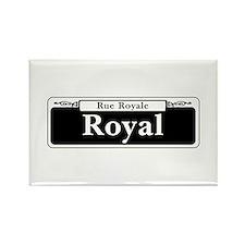 Royal St., New Orleans Rectangle Magnet