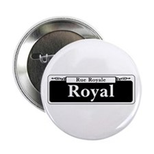 Royal St., New Orleans - USA Button
