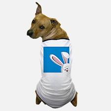 Peeking Bunny Dog T-Shirt