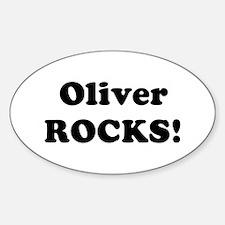 Oliver Rocks! Oval Decal