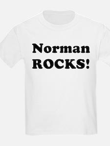 Norman Rocks! Kids T-Shirt
