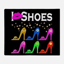 LOVE SHOES Throw Blanket