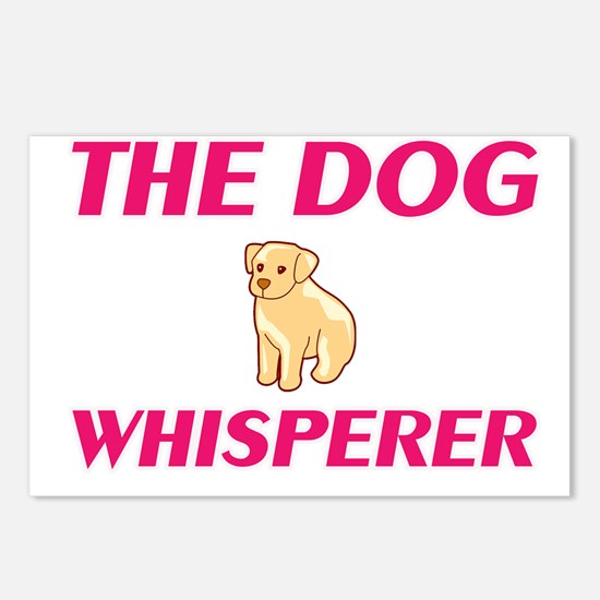The Dog Whisperer Postcards (Package of 8)