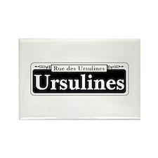 Ursulines St., New Orleans Rectangle Magnet