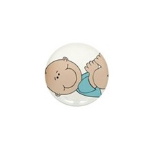 Baby Boy Mini Button (10 pack)