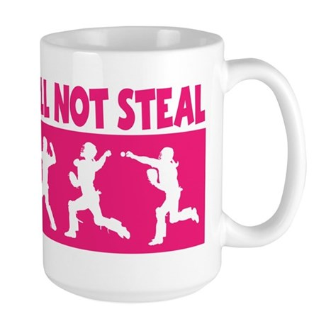 SHALL NOT STEAL Large Mug